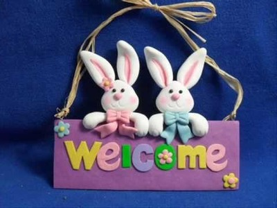 Clay dough Easter decoration China Supplier