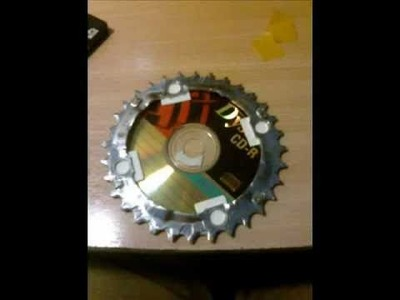 Converting HDD into a circular saw