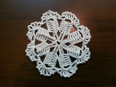 Crochet Motif - Windmill Pattern