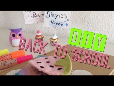DIY Back To School Supplies and Room decor