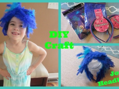 DIY Craft JOY Headband | Inside Out Inspired Disneybound