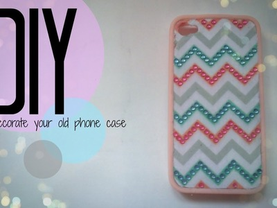 DIY| How To Customise Your Old Phone Case | CuteNailPolishArt