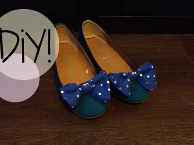 DIY| How to make Bow Shoes