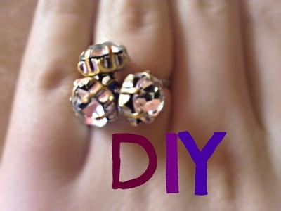 DIY : Ring (in 3 easy steps)