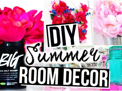 DIY Room Decor for Summer  - Cute & Cheap!
