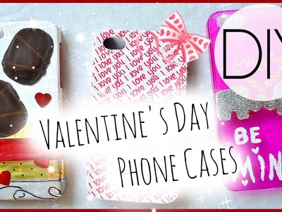 DIY Valentine's Day Phone Cases