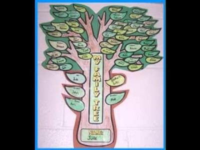 Family tree craft ideas