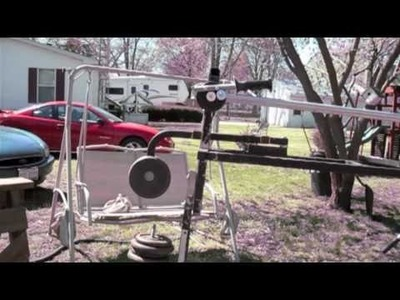 Homemade DIY Do It Yourself Camera Crane canon dslr camera t2i Girard  state Illinois
