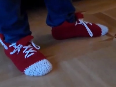 How to fashion - Converse like Socken häkeln