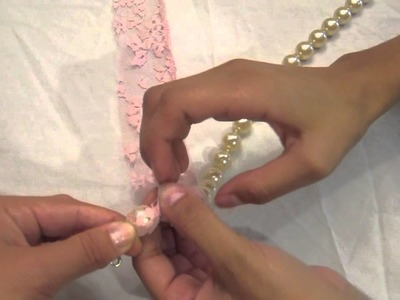 How To: Lace Necklace