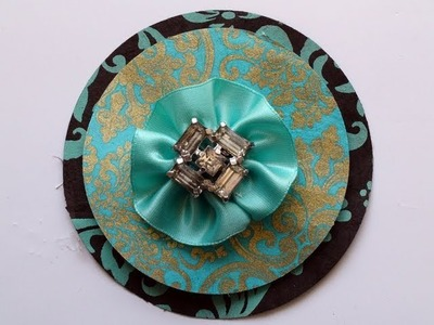How To Make a Paper Brooch
