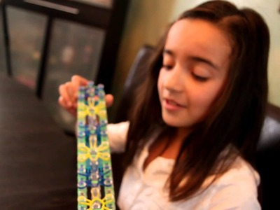 How to make a Starburst Bracelet - Rainbow Loom
