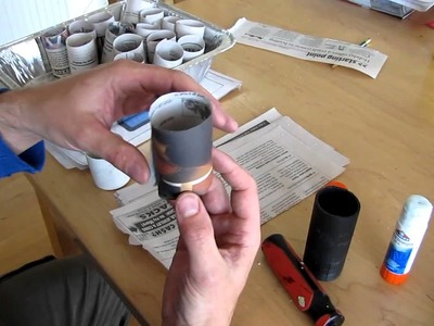 How to make paper pots for easy seedling transplant