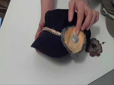 Ideas on Embellishing Military Hats-Cute Summer Accessory