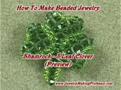 Jewelry Making Video - Shamrock