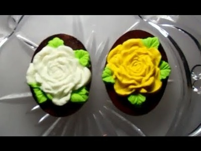 Making of a polymer clay fridge magnets