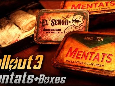 Mentats + Plus Boxes. Fallout 3. Props Travel Kit Tutorial