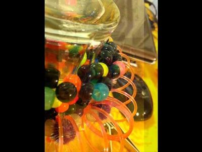 Mini Slinky Kandi Kuff Tutorial