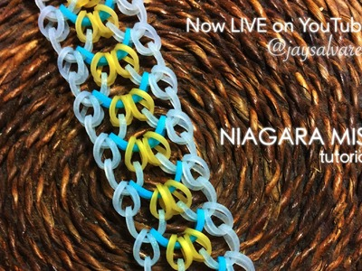 NIAGARA MIST Hook Only bracelet tutorial