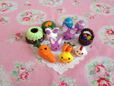 Polymer clay charm update #4 (Easter themed) ♡