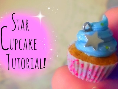 Polymer Clay: star cupcake wrapper tutorial!
