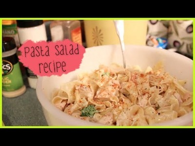 Quick & Easy Pasta Salad Recipe #CookingWithPXB