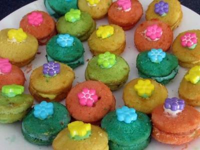 Rainbow Cupcake Bites Recipe