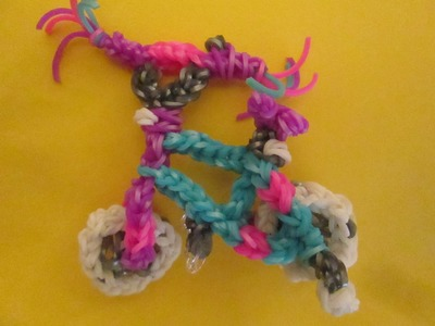 Rainbow Loom Bike Accessories Charm.