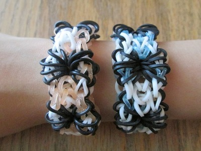 Rainbow Loom- Creepy Crawly Bracelet (Original Design)