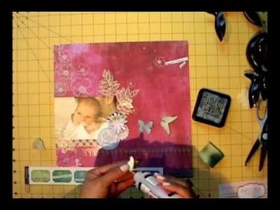 Scrapbooking Layout - Un enfant - Mauri[CITA]