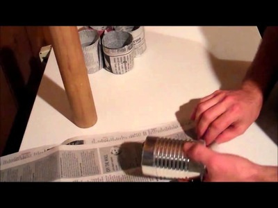 The Garden Rockstar - Make Your Own Newspaper Seed Starting Pots