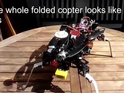 Tutorial: DIY Removable Landing Gear for Folding Copter, specially for Hobbyking HK Alien 560