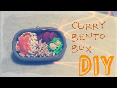 Tutorial :  Polymer Clay Bento