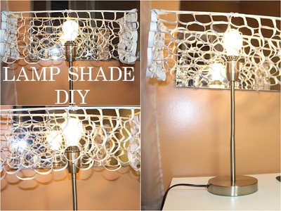 $1.25 LAMP SHADE DIY | RECYCLED | GOLDENPOISE