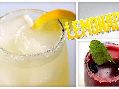 3 Kinds Of Homemade Lemonade - Do It, Gurl
