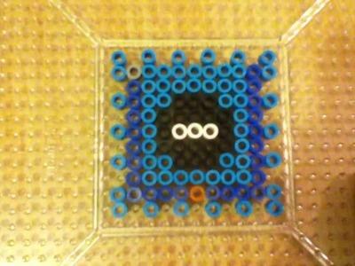 3D Perler Bead Gamecube Tutorial