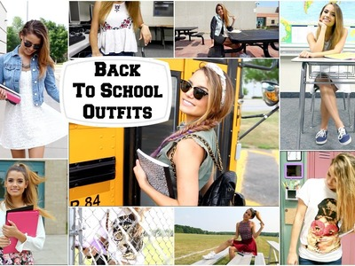 Back To School 2014 | Outfits!