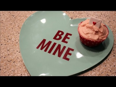 BE MY VALENTINE? VANILLA CUPCAKE TUTORIAL | housewifeswag