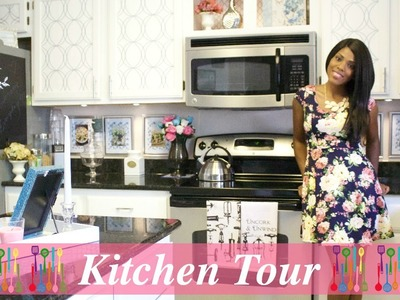 Beautiful Kitchen Tour pt 1 ♥ Kitchen Overview 2015
