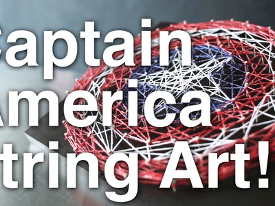 Captain America String Art!!