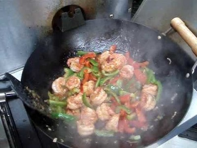 Chinese Spicy Shrimp Stir Fry Recipe