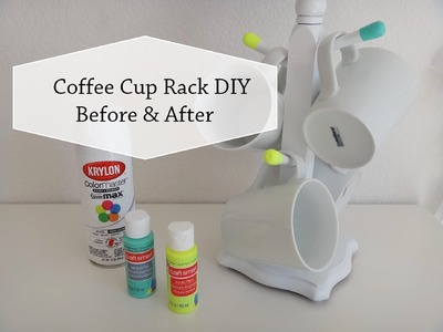 Coffee Cup Rack | Thrift Store DIY | Before & After