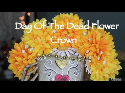 ❉ Day Of The Dead Floral Crown DIY ❉