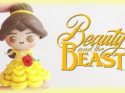 Disney Belle Chibi Clay Tutorial from Beauty and The Beast