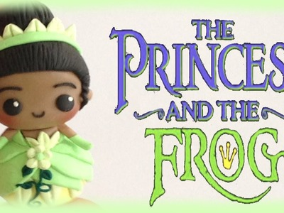 Disney Princess and the Frog Tiana Clay Tutorial