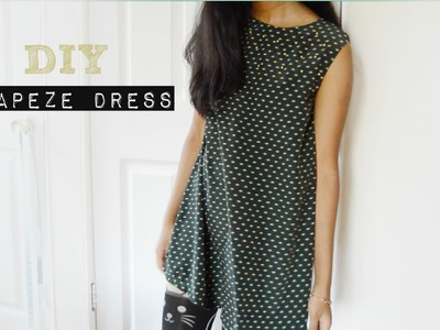 DIY Easy Trapeze Dress