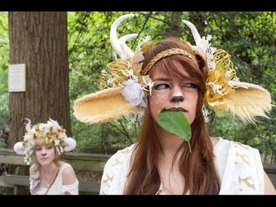DIY: Fairy.Fawn Headdress for Renn Fest