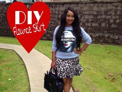DIY: Flounce Skirt