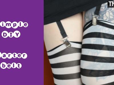 DIY garter belt