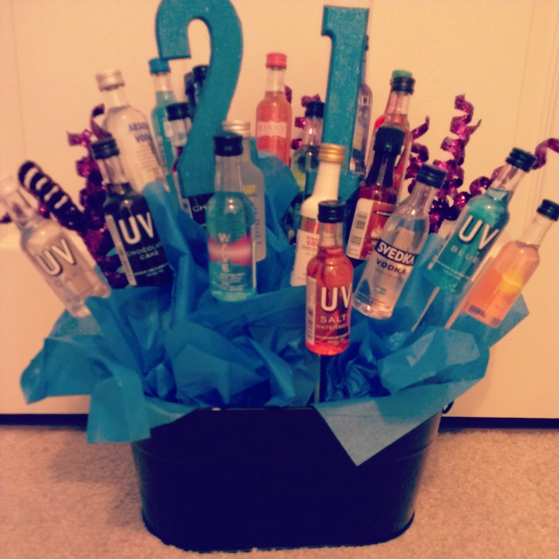 DIY | How to make a 21st Birthday Bouquet